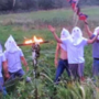Iowa students disciplined after wearing hoods, burning cross