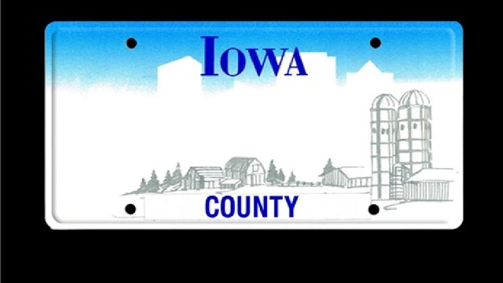 Court: Iowa license plates must show county name | KHQA