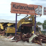 Kurlancheek Home Furnishings condemned from tornado, demolished