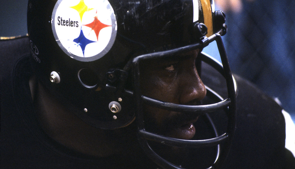 Joe Greene terrified and demoralized opposing quarterbacks in the NFL, winning four Super Bowl rings in the 1970s with the Pittsburgh Steelers. (Bill Amatucci Collection/Diamond Images/Getty Images)