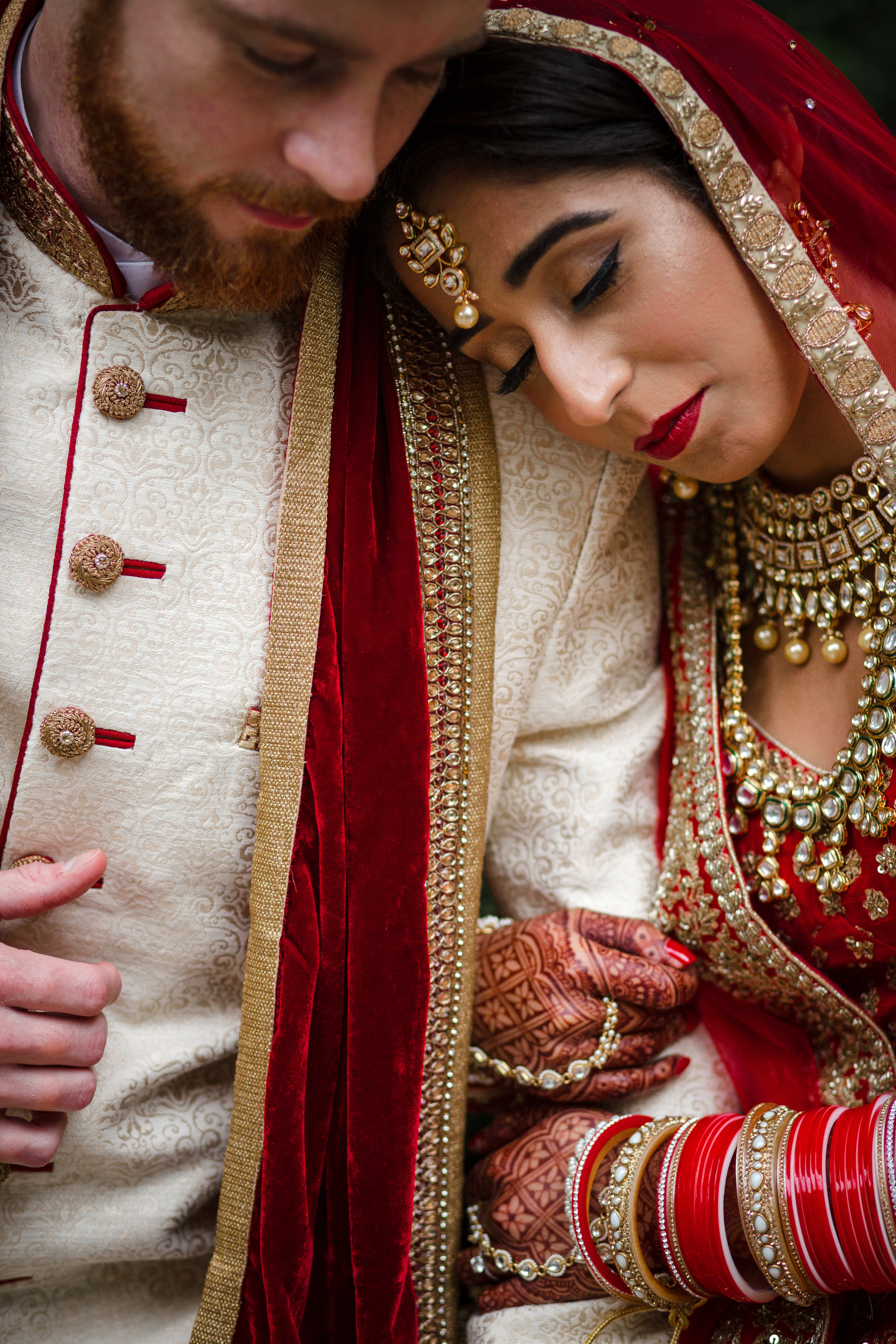 The ceremony was held at the Sikh Foundation of Virginia. (Image: Laura Bryan Photography){ }