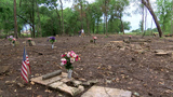 Neglected historical Coweta cemetery seeing fast transformation with community help
