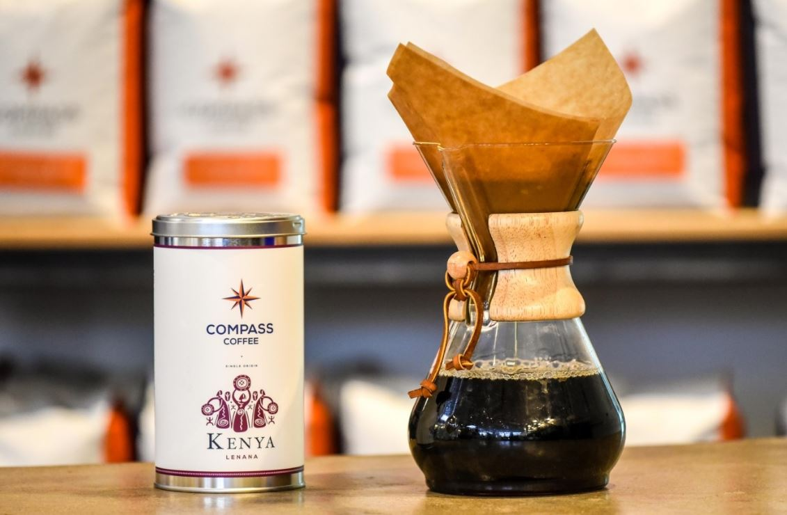 Compass Coffee; Hood: Chinatown (Image: Courtesy Compass Coffee)
