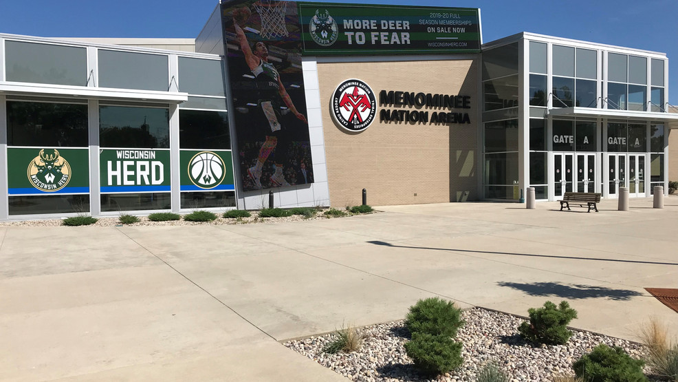 The Menominee Nation Arena in Oshkosh is seen, Aug. 19, 2019.