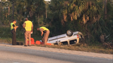 At least one killed in crash on I-95 in Palm City