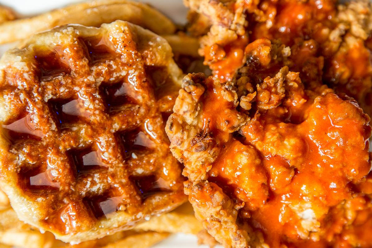 Marty's Chicken and Waffles  --  Image: Daniel Smyth Photography
