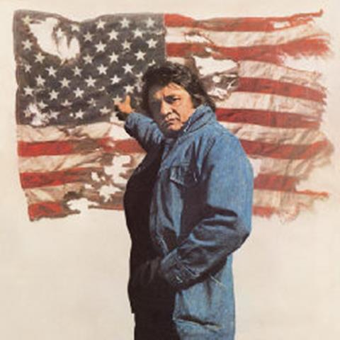 The Man in Black's narative about a 'ragged flag'.http://www.youtube.com/watch?v=JnivJb3Rv5A