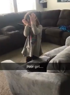 5-yr-old girl breaks down in tears after Joe Johnson trade (Photo: Kerdaddy/Twitter){ }