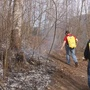 Seeing smoke? Brush pile burning continues Monday