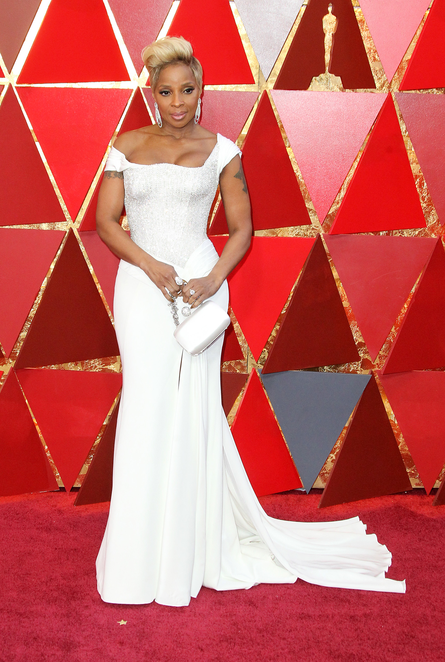 Mary J. Blige{&nbsp;}arrives at the 90th Annual Academy Awards (Oscars) held at the Dolby Theater in Hollywood, California. (Image: Adriana M. Barraza/WENN.com){&nbsp;}<p></p>