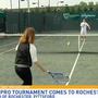 Future tennis pros come to town for tournament