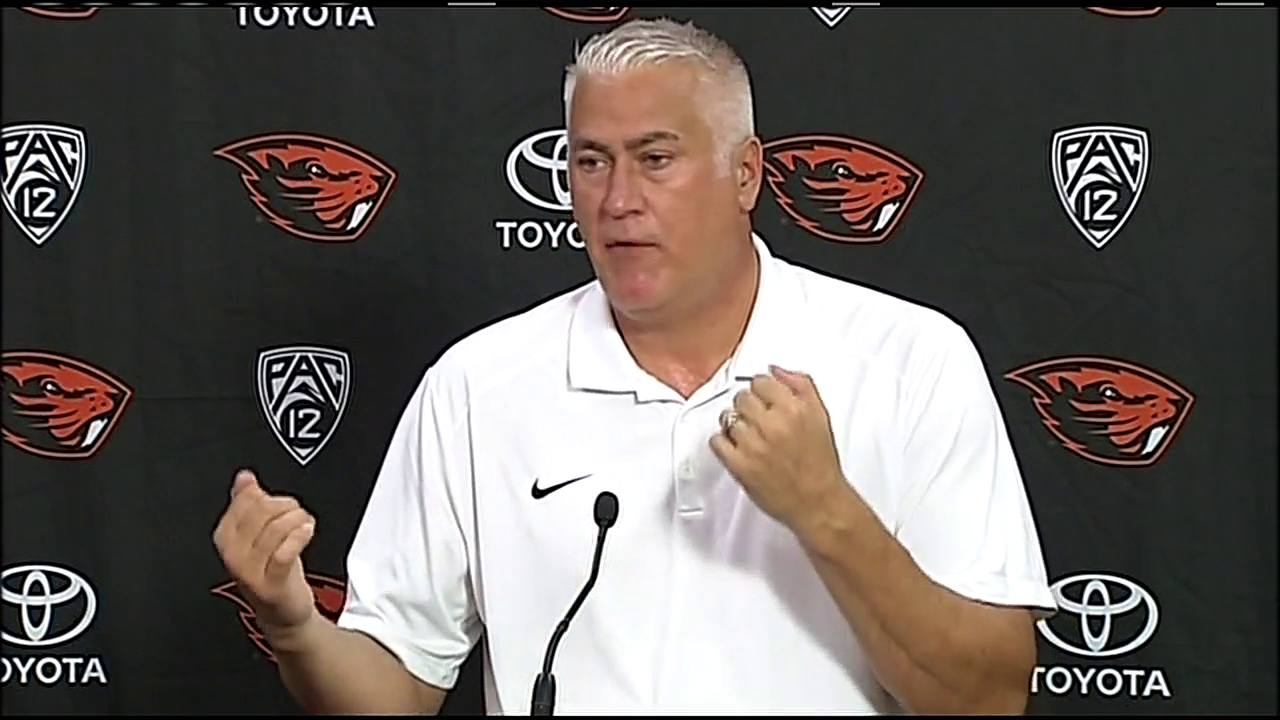 Beaver basketball coach Wayne Tinkle talks about the Barcelona terror attack that happened outside the team's hotel room.