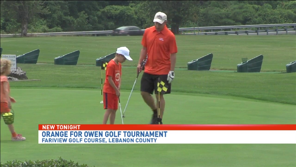 Golfers hit the links to benefit Orange For Owen Foundation