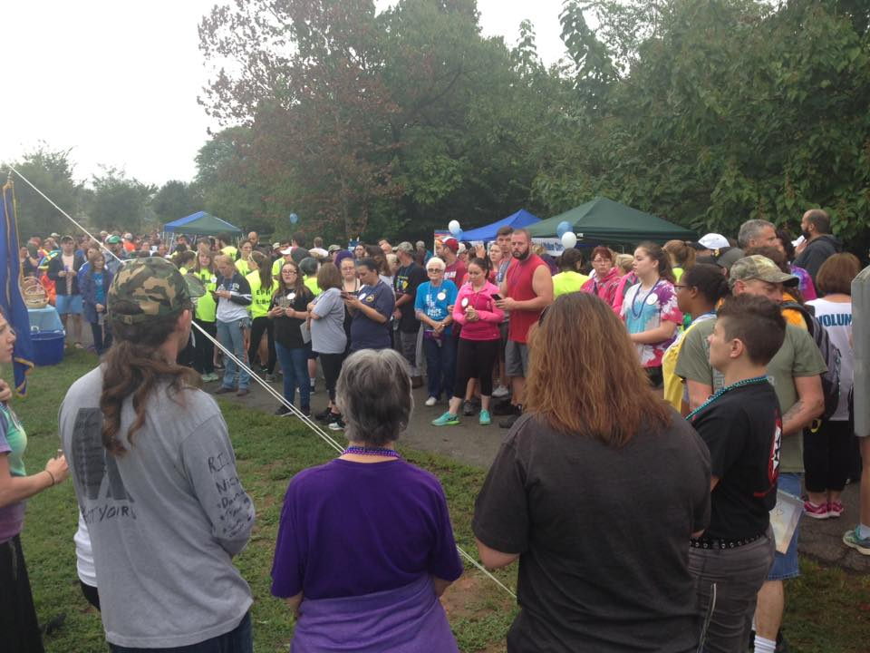 In October there will be an Out of the Darkness Community Walk (Photo: Deann Adams).