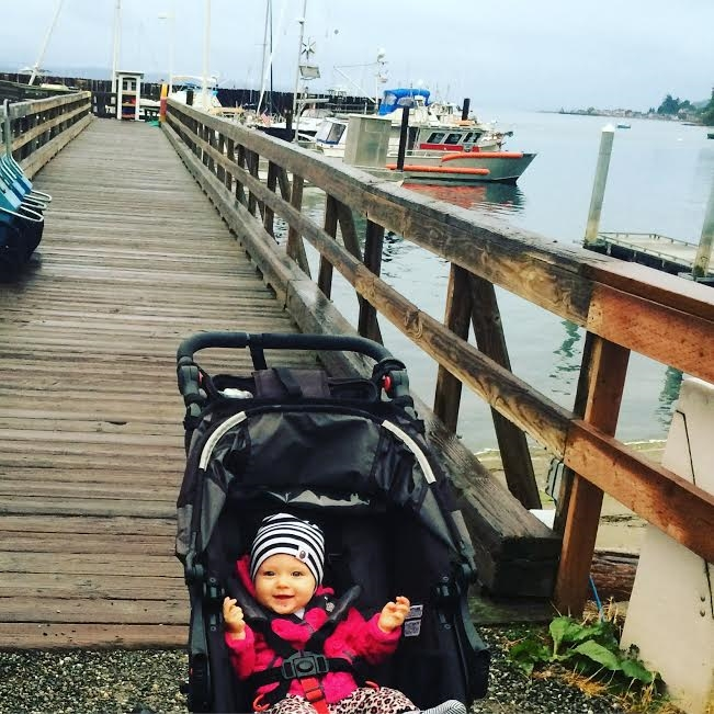 June loved Whidbey Island, can you tell? Or maybe that's just gas...(Image: Kate Neidigh)