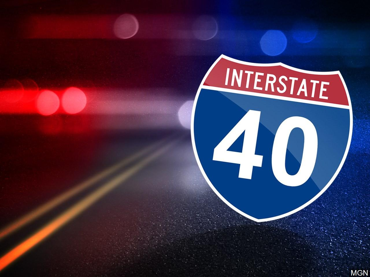 Interstate 40 is closed in Haywood County because of a slide. (Photo credit: MGN)