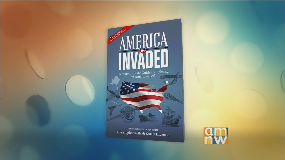 """America Invaded"" author, Christopher Kelly"