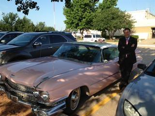 The King's Cadillac. And Bill.