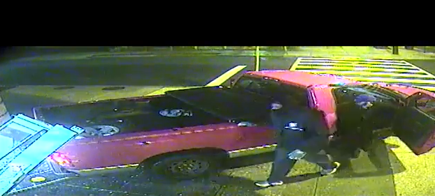 Photo of pickup truck linked to attempted robbery in Northeast D.C. on Feb. 20.  Wednesday, March 7, 2018 (Metropolitan Police){&amp;nbsp;}<p></p>