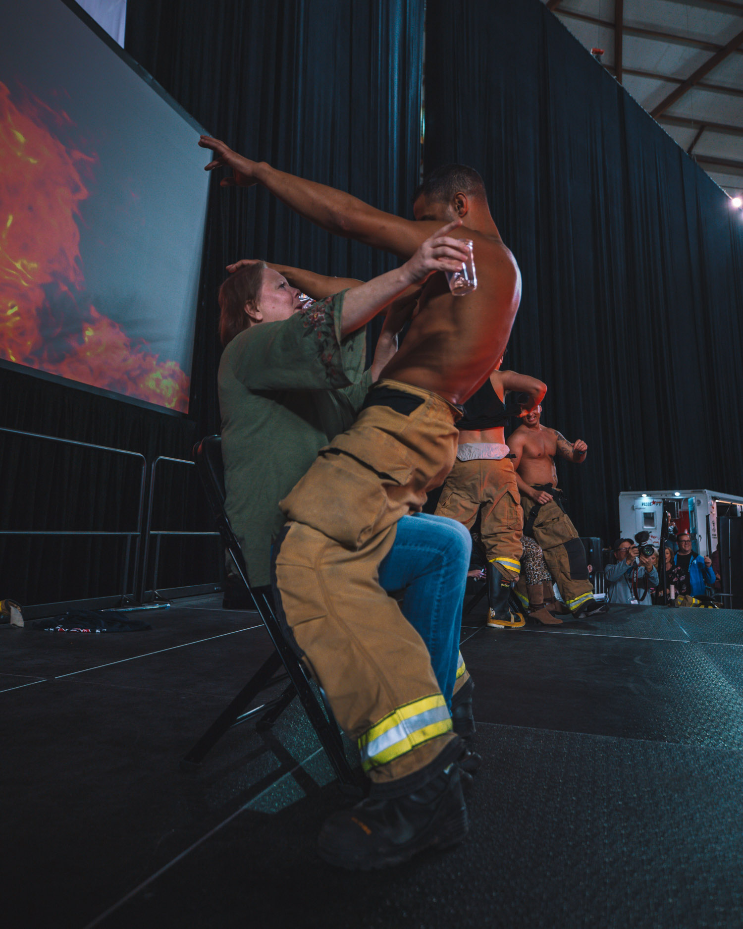 Is it just us, or is it getting HOT in here? It's definitely not just us, it's the Tacoma Professional Firefighters, Adrienne Bankert of ABC News, Dancing With The Stars camp Alan Bersten, celebrity chefs Danielle Kartes and Shaun O'Neale, magician David Minkin and all the fun and games happening at the So Northwest Women's Show presented by BECU at the Tacoma Dome this weekend. Hundreds crowded the Dome for shopping, samples, entertainment and celebrities alike! Missed Day 1?{ } (Image: Daniel Macadangdang / Seattle Refined)