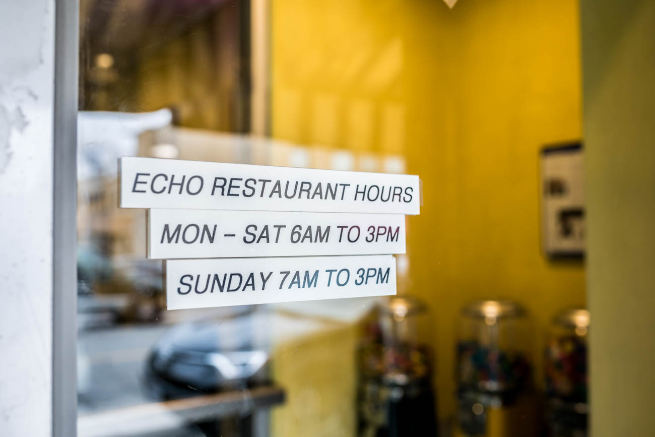 The Echo has been serving comfort food to Hyde Park since the 1940s. Breakfast-seekers can order delicious plates of complex omelets and platters as well as simple bacon, eggs, and toast with their morning coffee. It is open all week until 3 p.m. each day. ADDRESS: 3510 Edwards Road (45208) / Image: Amy Elisabeth Spasoff // Published: 2.20.18