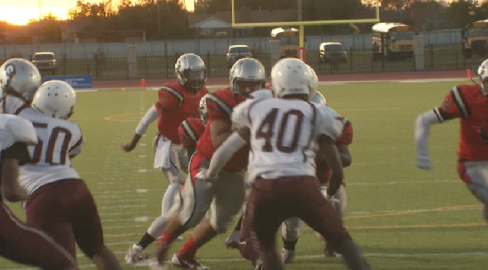U. S. Grant High School faced off against Seeworth Academy on Thursday, Sept. 29, 2016. Grant High won 27-0 (KOKH)