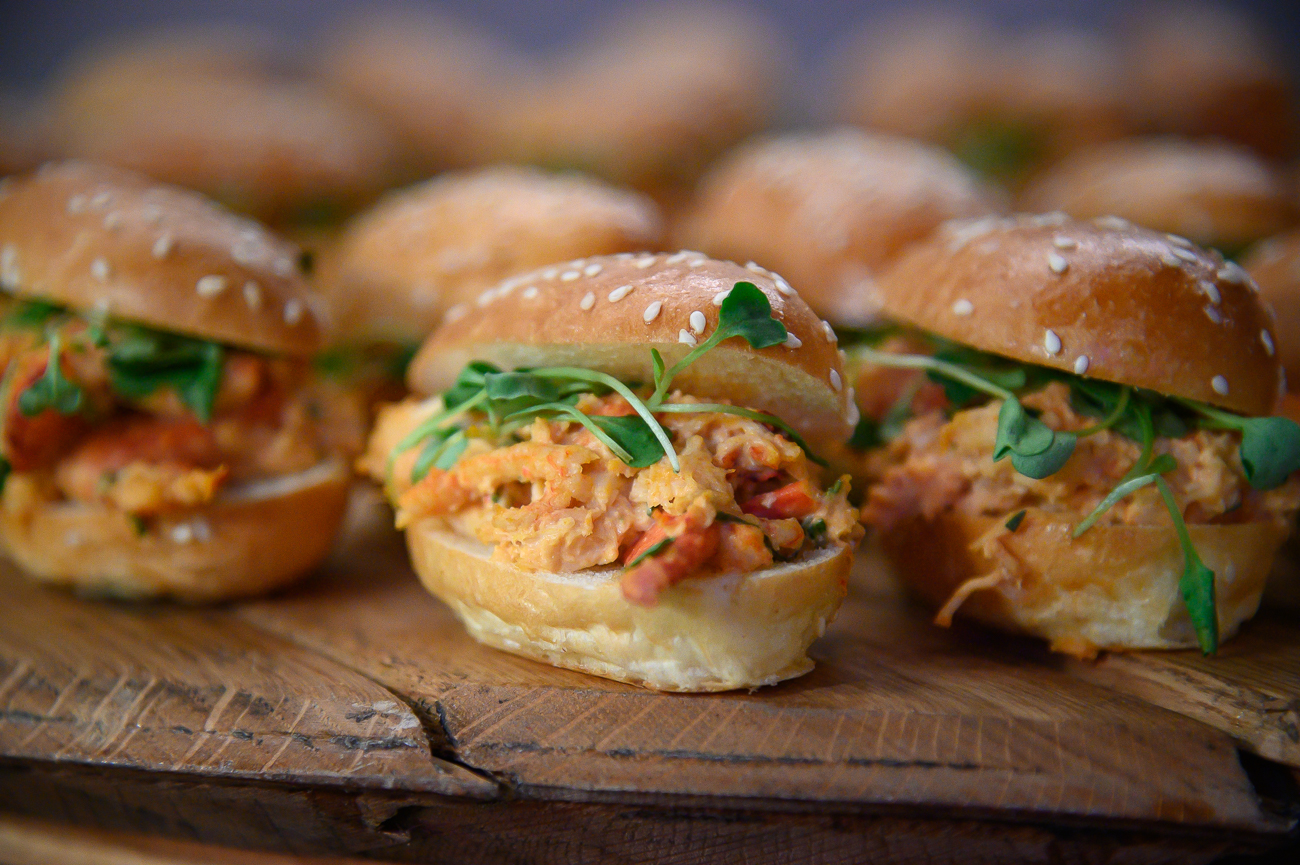 Smoked lobster rolls / Image: Phil Armstrong, Cincinnati Refined // Published: 1.24.20