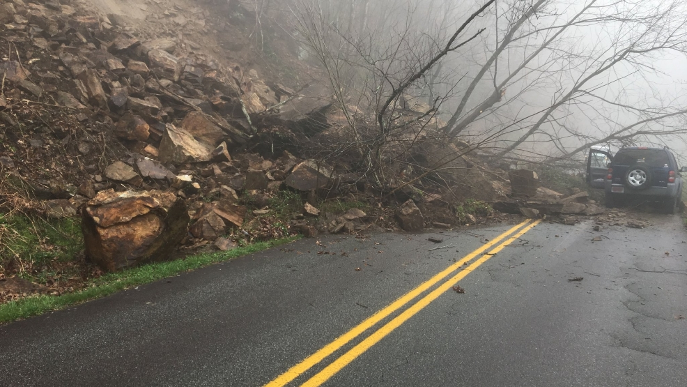 Section Of Blue Ridge Parkway Closed South Deep Gap In Watauga