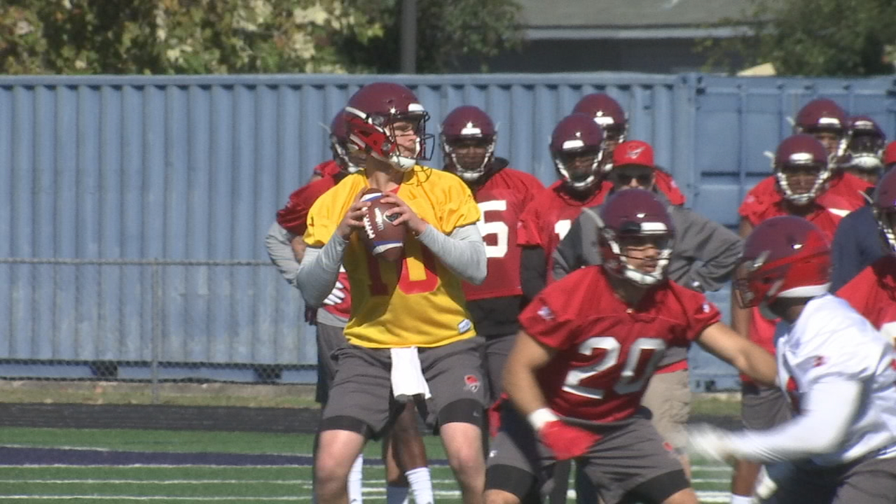 The San Antonio Commanders of the American Alliance of Football opened training camp on Friday. (SBG San Antonio)