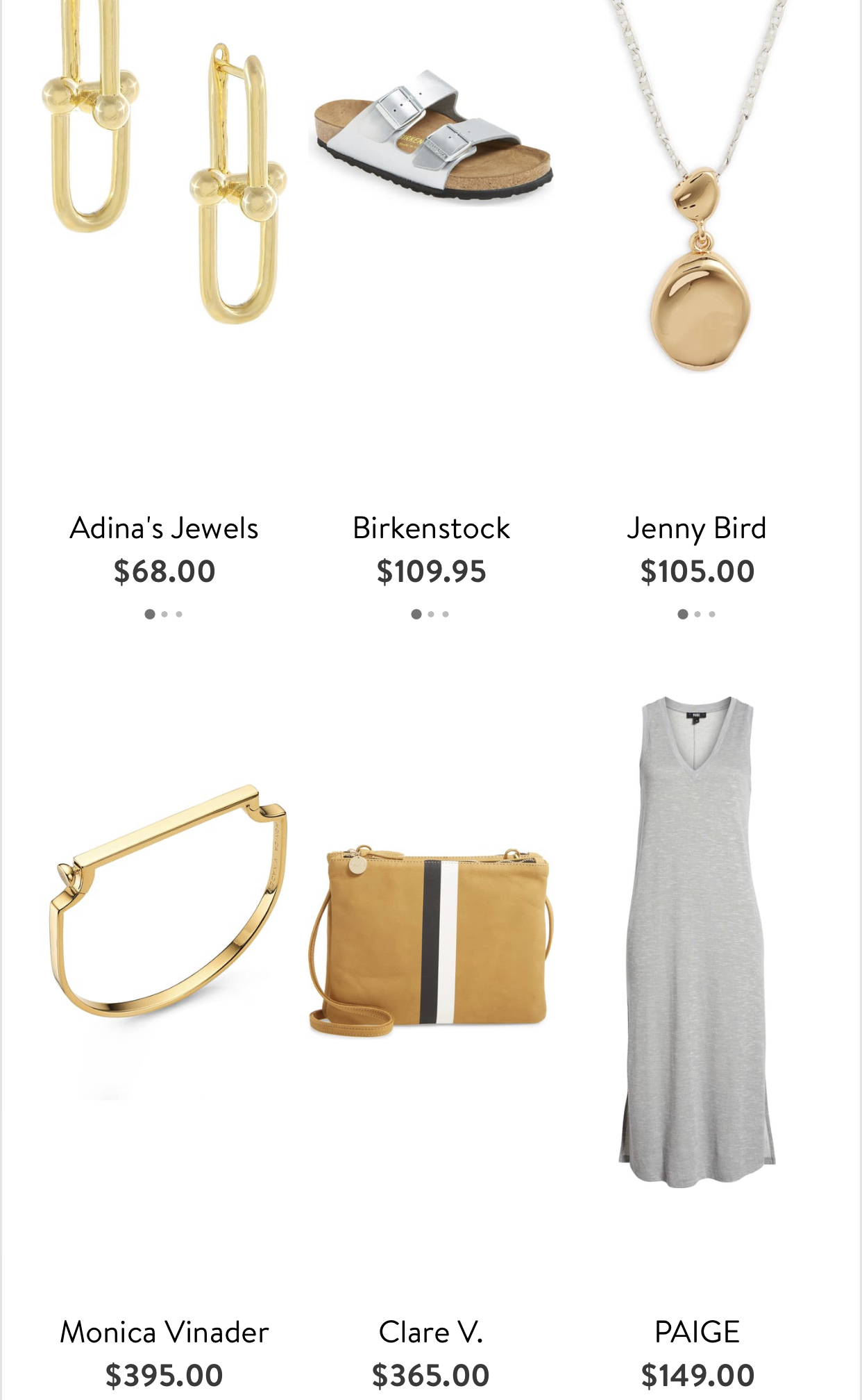 Style Board from my Nordstrom Stylist, loved these picks!{ }(Image: Nordstrom App){ }