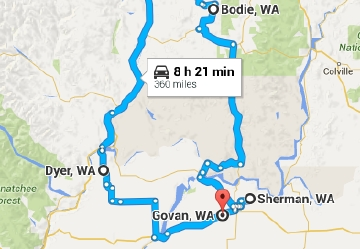 Ghost Towns In Oregon Map.Take A Ghost Town Road Trip 7 Locations 8 Hours Seattle Refined
