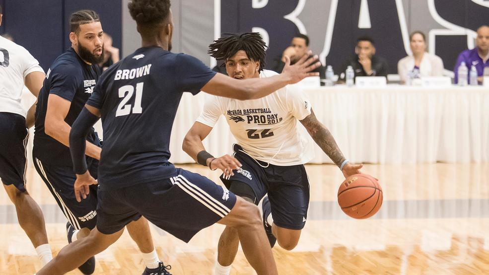 timeless design 57152 a8de9 Murray s Mailbag  Who s in the starting five for Nevada basketball in  2019-20