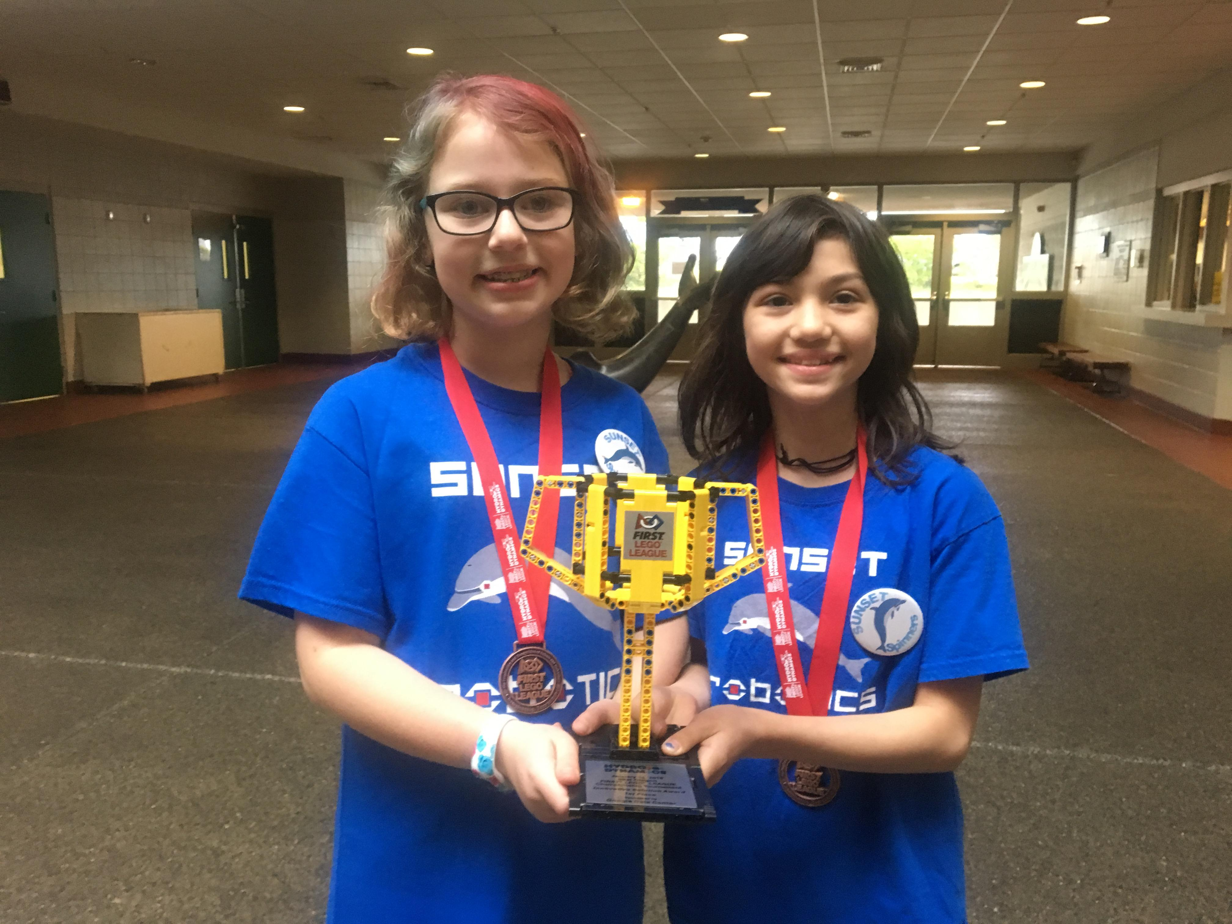 Two 10-year-olds win robotics competition with potential groundbreaking invention
