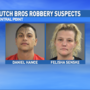 Police search for Dutch Bros. robbery suspects