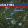 Three killed in two fires in West Virginia