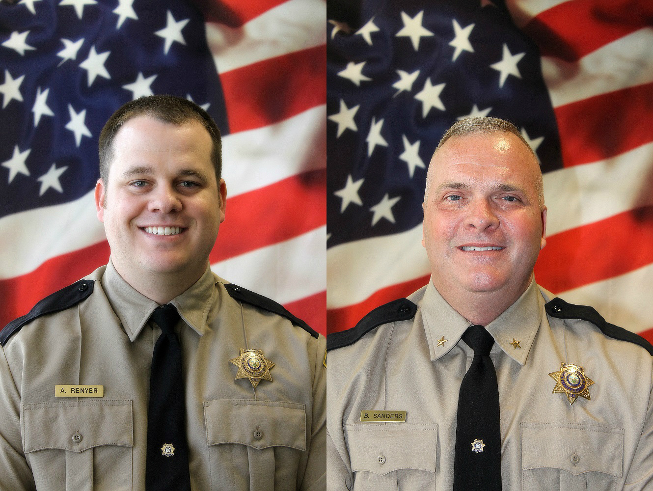 Senior Deputy Andrew Renyer &amp;amp;{&amp;nbsp;}Undersheriff Brian Sanders received honors at the 2017 State Sheriff's Banquet in Bend.{&amp;nbsp;}(Photos courtesy Douglas County Sheriff's Office)<p></p>