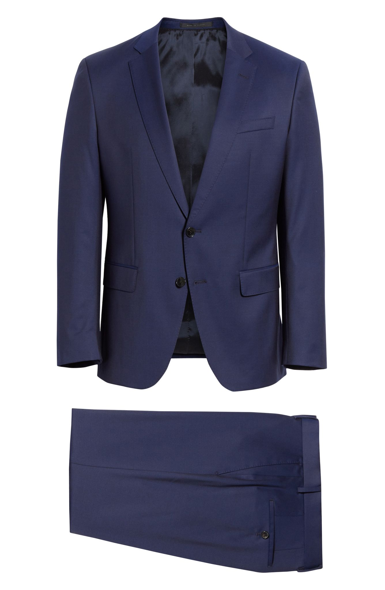 BOSS HUGO BOSS Slim-Fit Wool Suit (normally $895): NOW $598.90 (Image: Nordstrom){ }