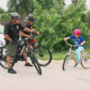 Child joins deputies on bike patrol