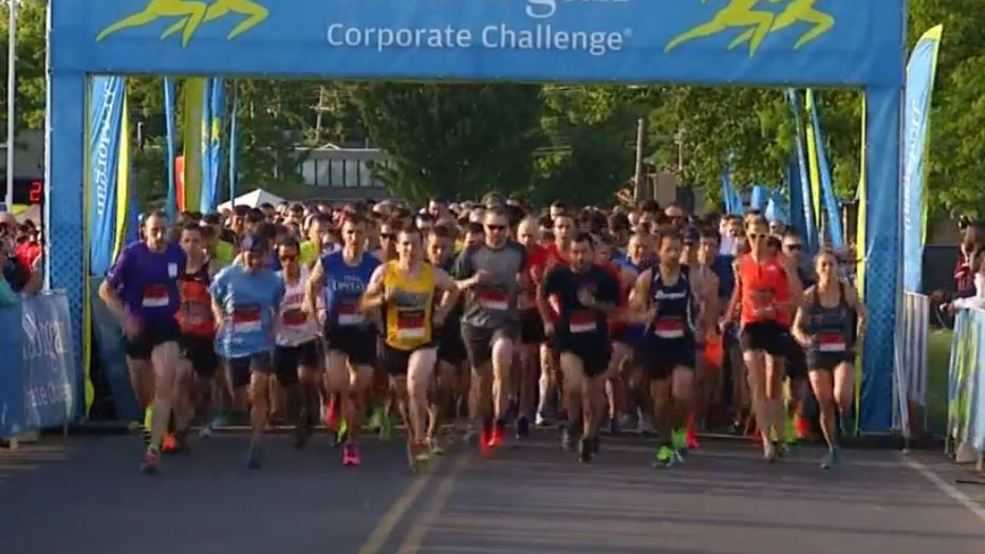 Registration open for companies participating in J. P. Morgan Company Challenge Run