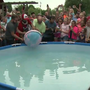 Small town soap makers set world record with largest bath bomb