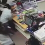 Caught on camera: Clerks tangle with would-be robber