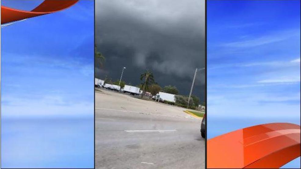 Tornado In West Palm Beach