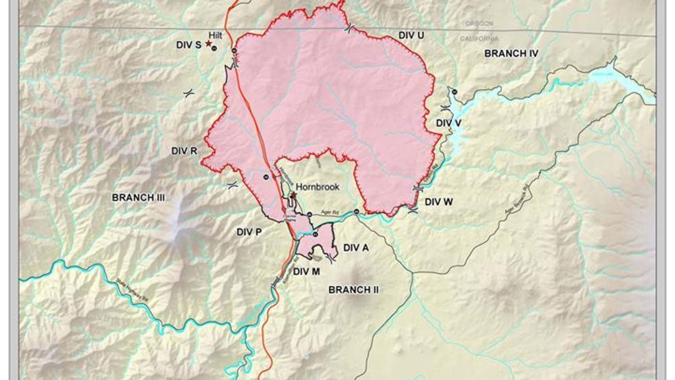 Klamathon Fire passes 30,000 acre mark | Mail Tribune
