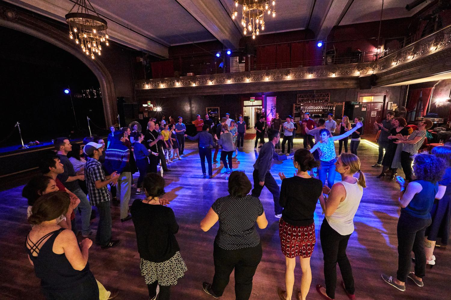 It's time to dance folks! (Image courtesy of Century Ballroom).