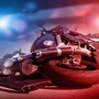 Pedestrian in critical condition after motorcycle accident in east Las Vegas