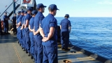 Coast Guard crew pays tribute to those who lost their lives on Edmund Fitzgerald