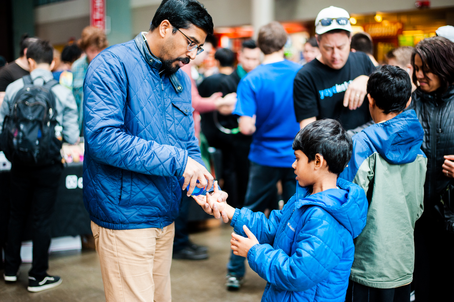 "The Pacific Northwest Regional Yo-Yo Championship was held today, February 23, 2019 at the Seattle Center and is the ""premier yo-yo event in the Pacific Northwest."" This competition has been around since 2005 and attracts top talent from the region and around the country (Image: Elizabeth Crook / Seattle Refined)."