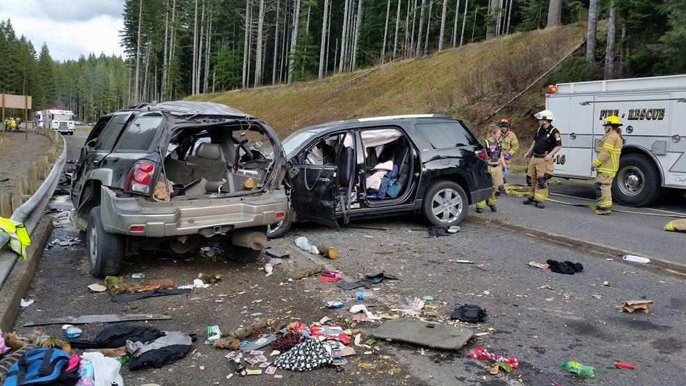 Car Accident Highway  Oregon