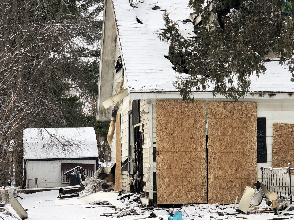 As most people are preparing to ring in a new year, a Vassar family with two young children is dealing with the loss of their home. (Photo Credit: Jasmyn Durham)