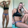 Fitness coach draws worldwide attention for 'honest' body photos